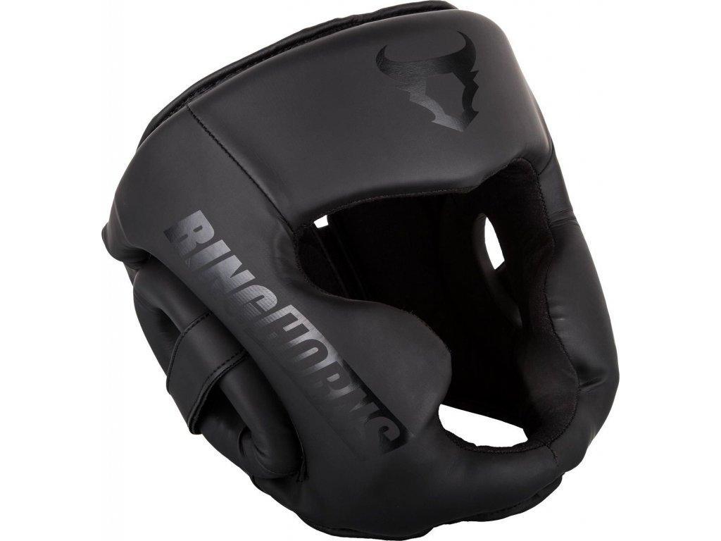 Headgear Ringhorns Charger - Black/Black