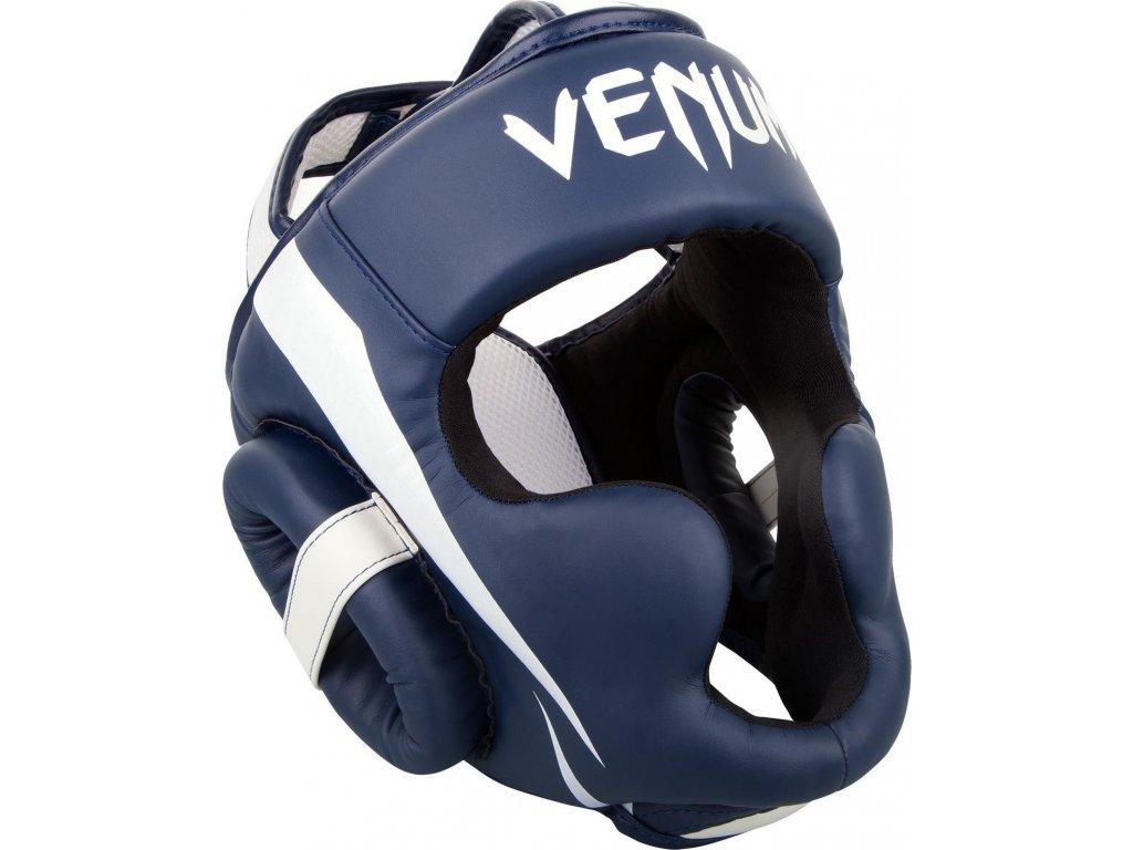 Headgear Venum Elite - White/Navy Blue