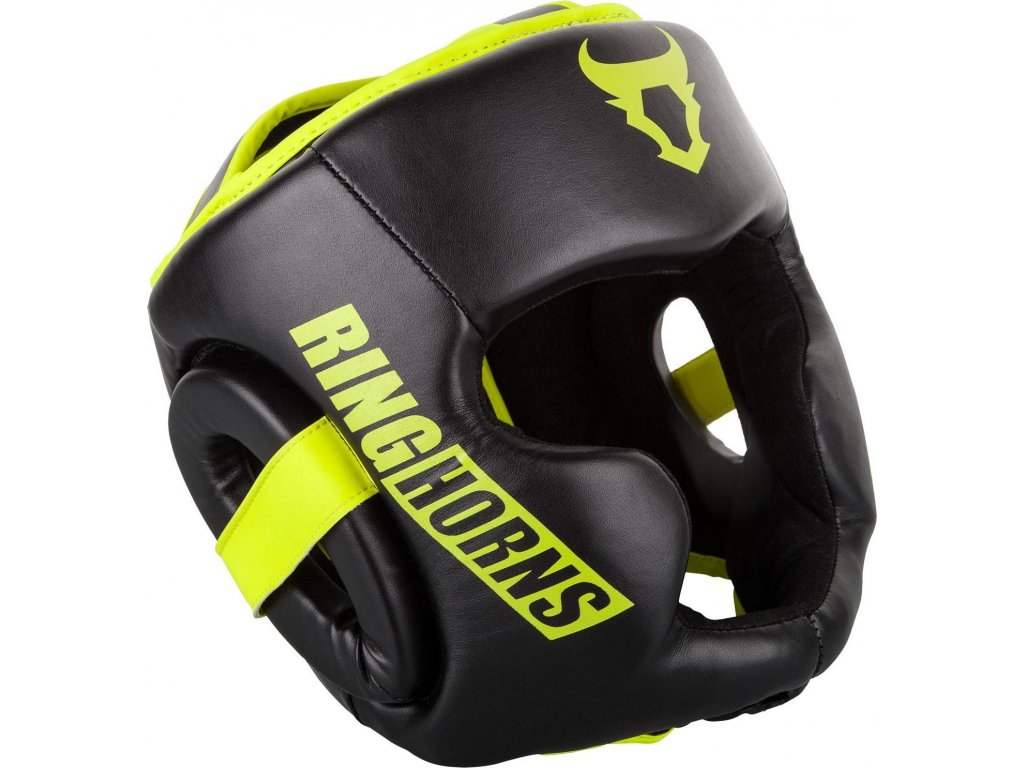 Headgear Ringhorns Charger - Black/Neo Yellow