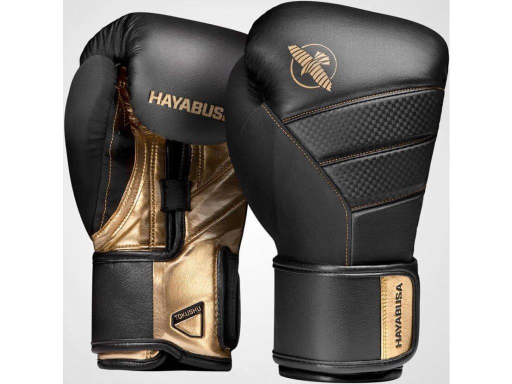 Boxing Gloves Hayabusa T3 - Black/Gold