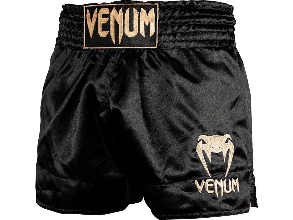 Muay Thai Shorts Venum Classic - Black/Gold