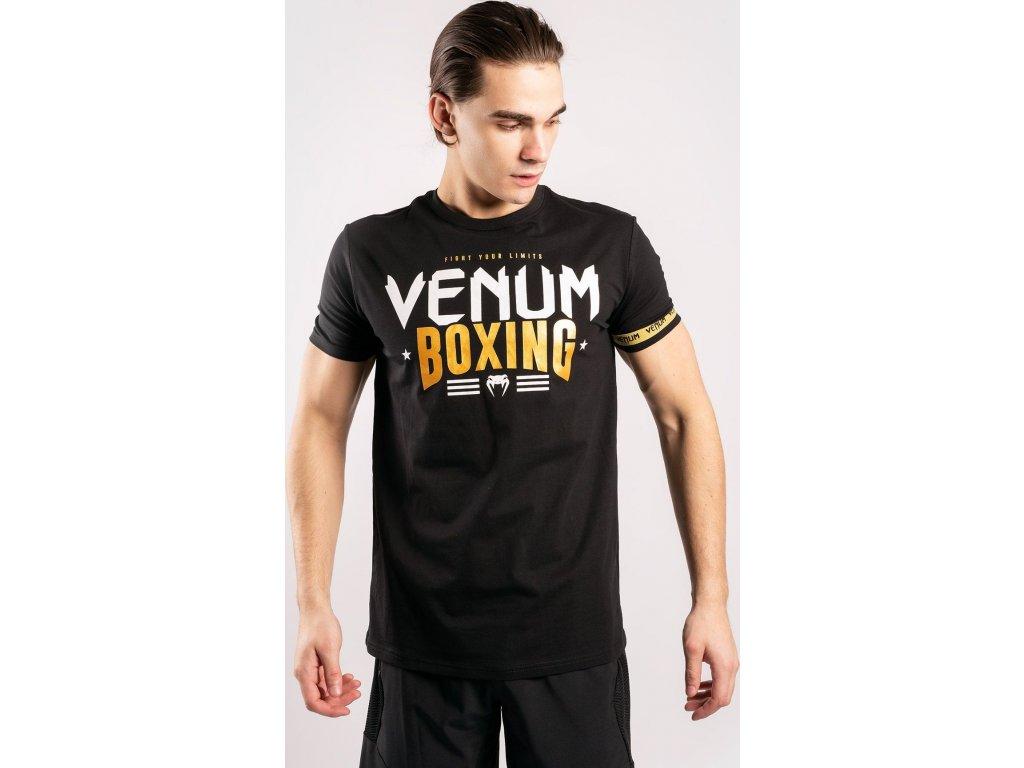 Men's T-shirt Venum Boxing Classic 20 - Black/Gold