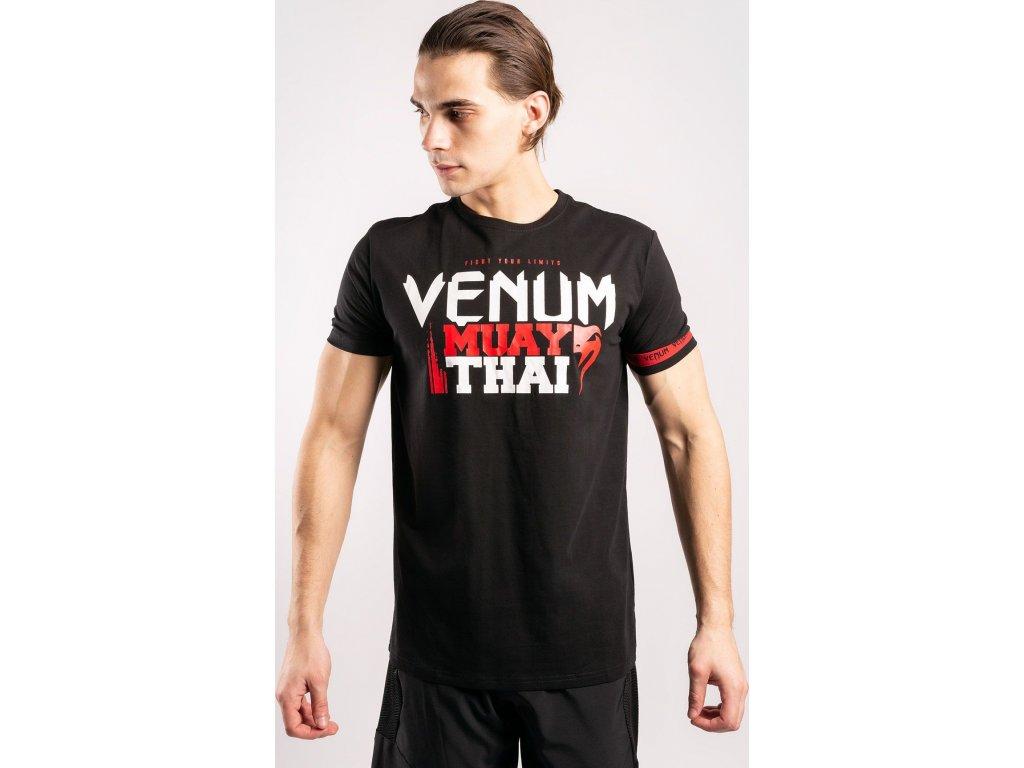 Men's T-shirt Venum Muay Thai Classic 20 - Black/Red