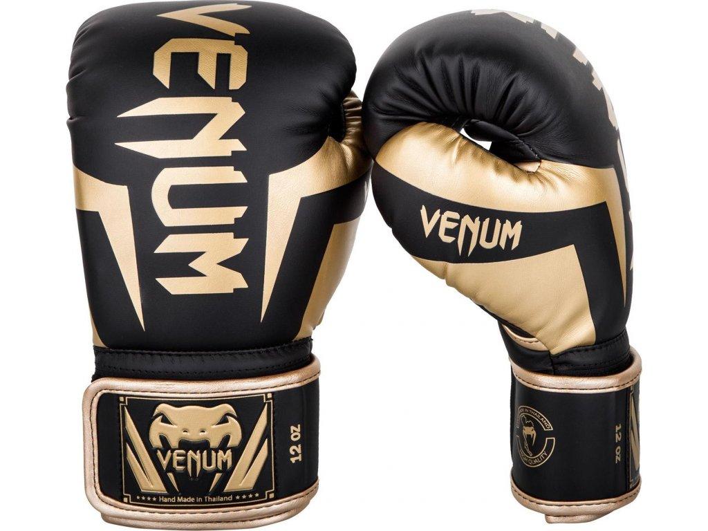 Boxing Gloves Venum Elite - Black/Gold