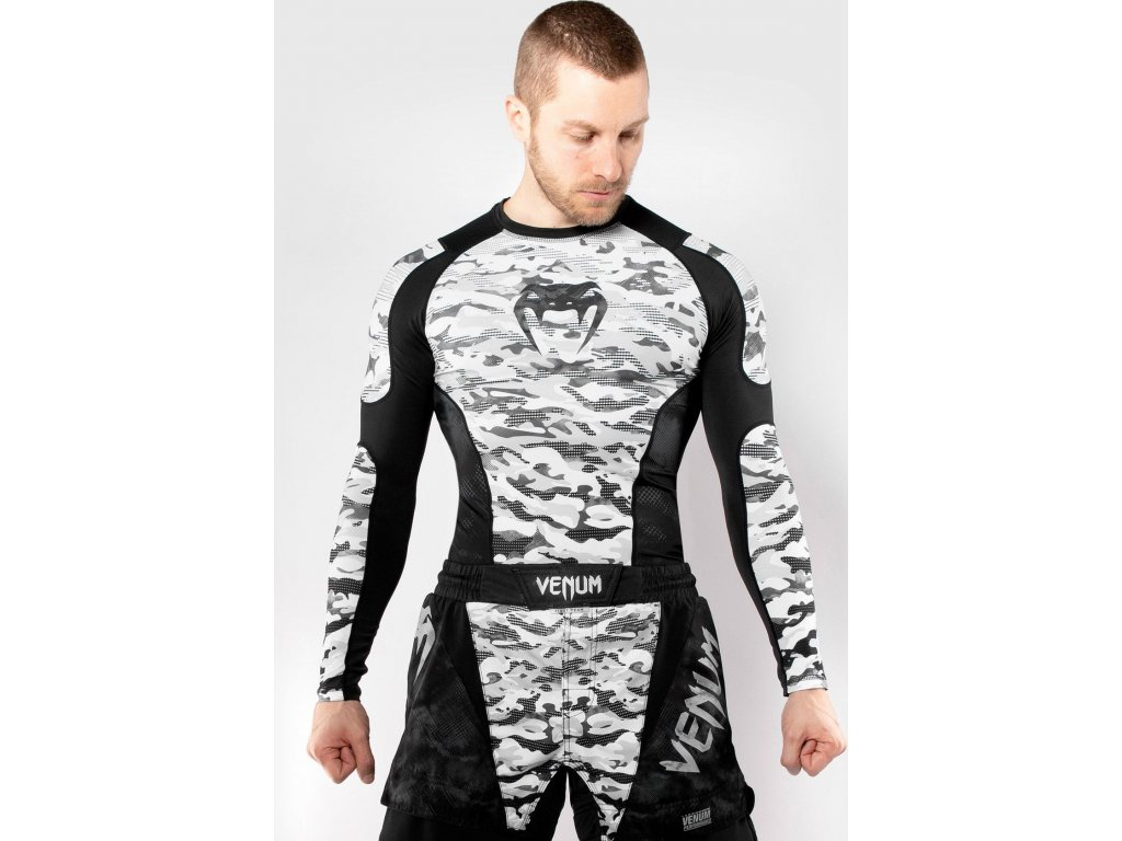 Rashguard Venum Defender - Long Sleeves - Urban Camo