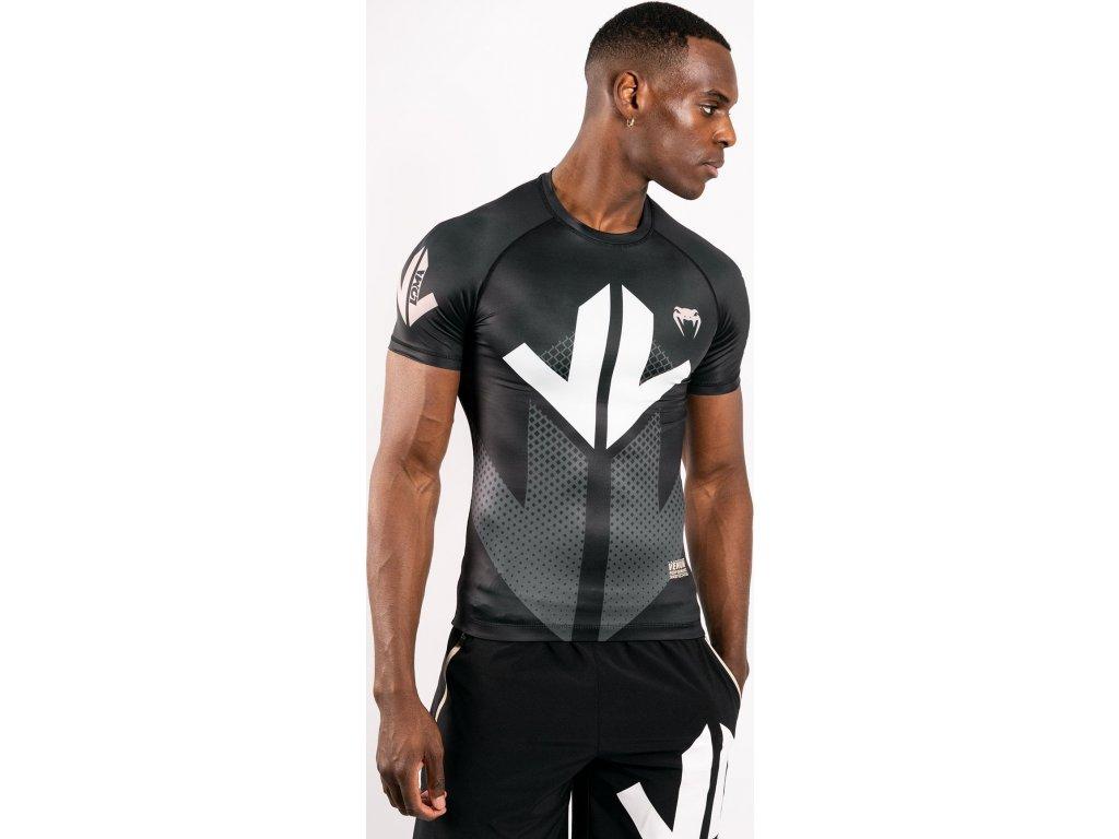 Rashguard Venum Arrow Loma Signature - Short Sleeves - Black/White