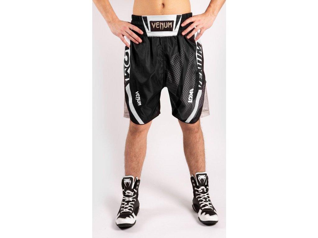 Boxing Shorts Venum Arrow Loma Signature - Black/White