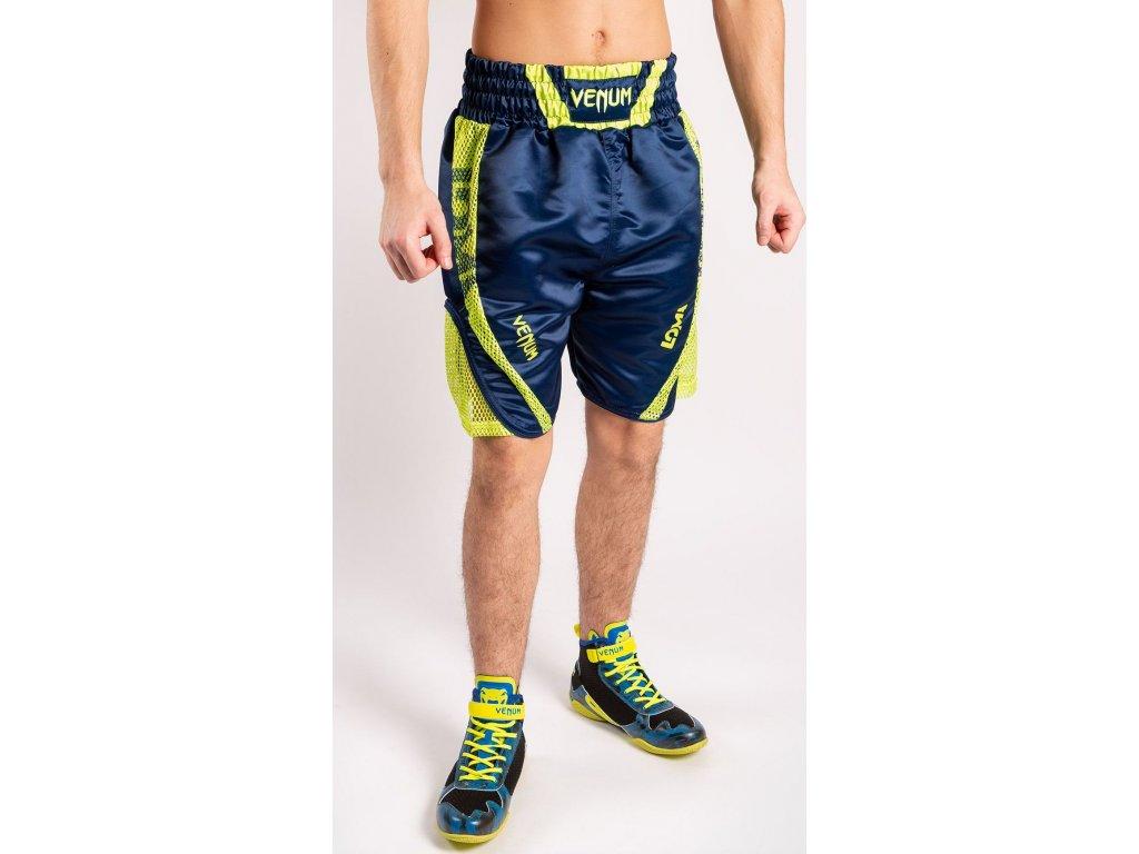 Boxing Shorts Venum Loma Origins - Blue/Yellow