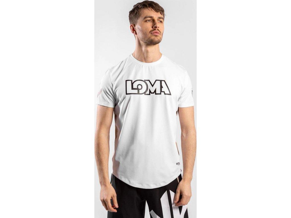 Men's T-shirt Venum Origins Dry Tech - White/Black