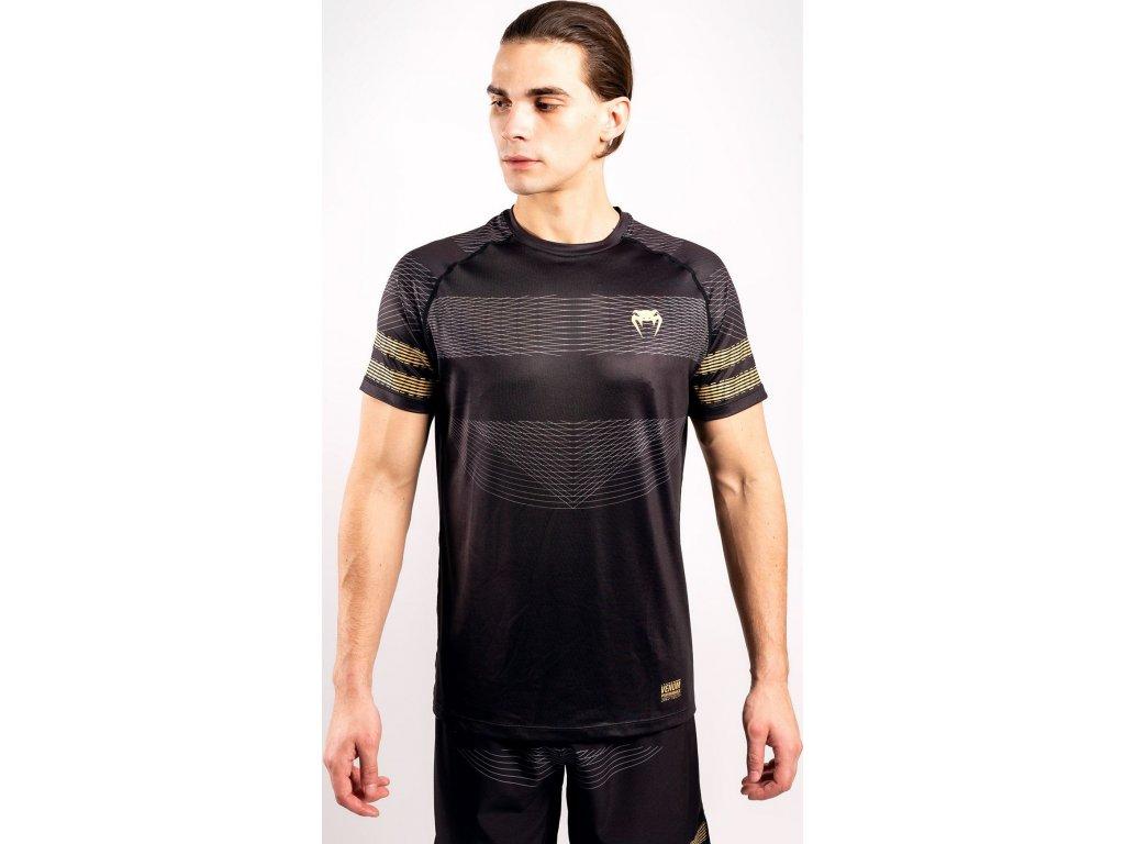 T-Shirt Venum Club 182 Dry Tech - Black/Gold