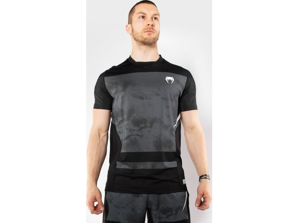 T-Shirt Venum Sky247 Dry Tech - Black/Grey