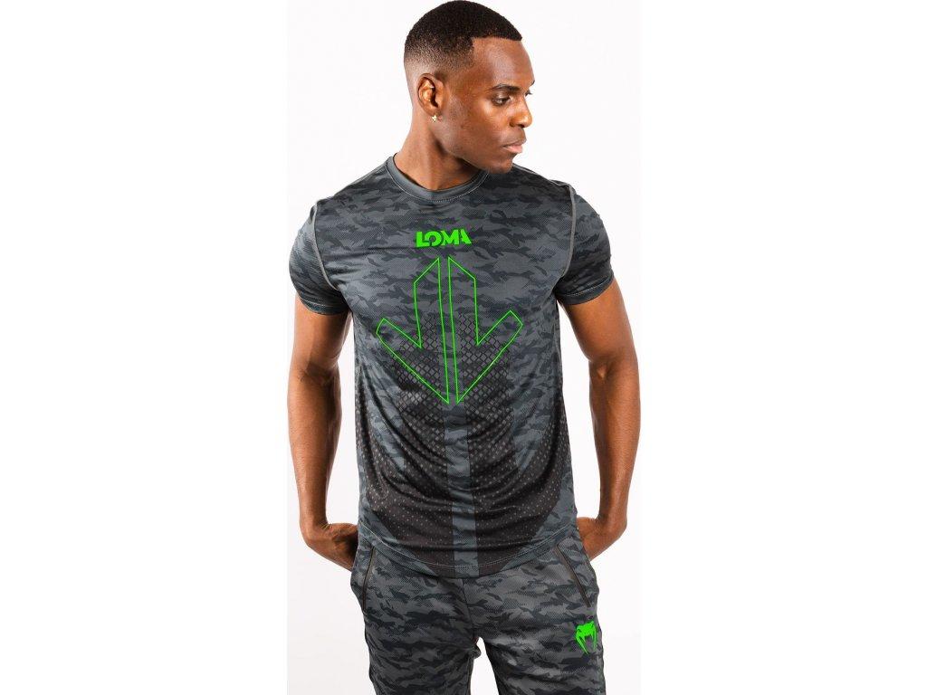 T-Shirt Venum Arrow Loma Signature Dry Tech - Dark Camo