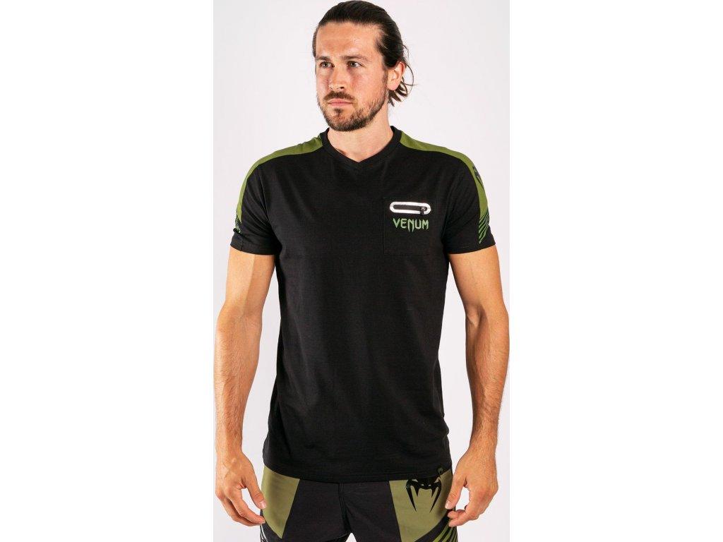 Men's T-Shirt Venum Cargo - Black/Green