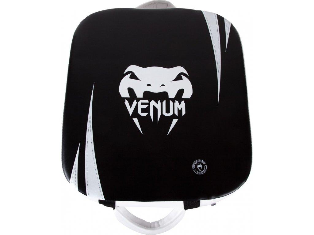 Square Kick Shield Venum Absolute - Skintex Leather - Black/Ice