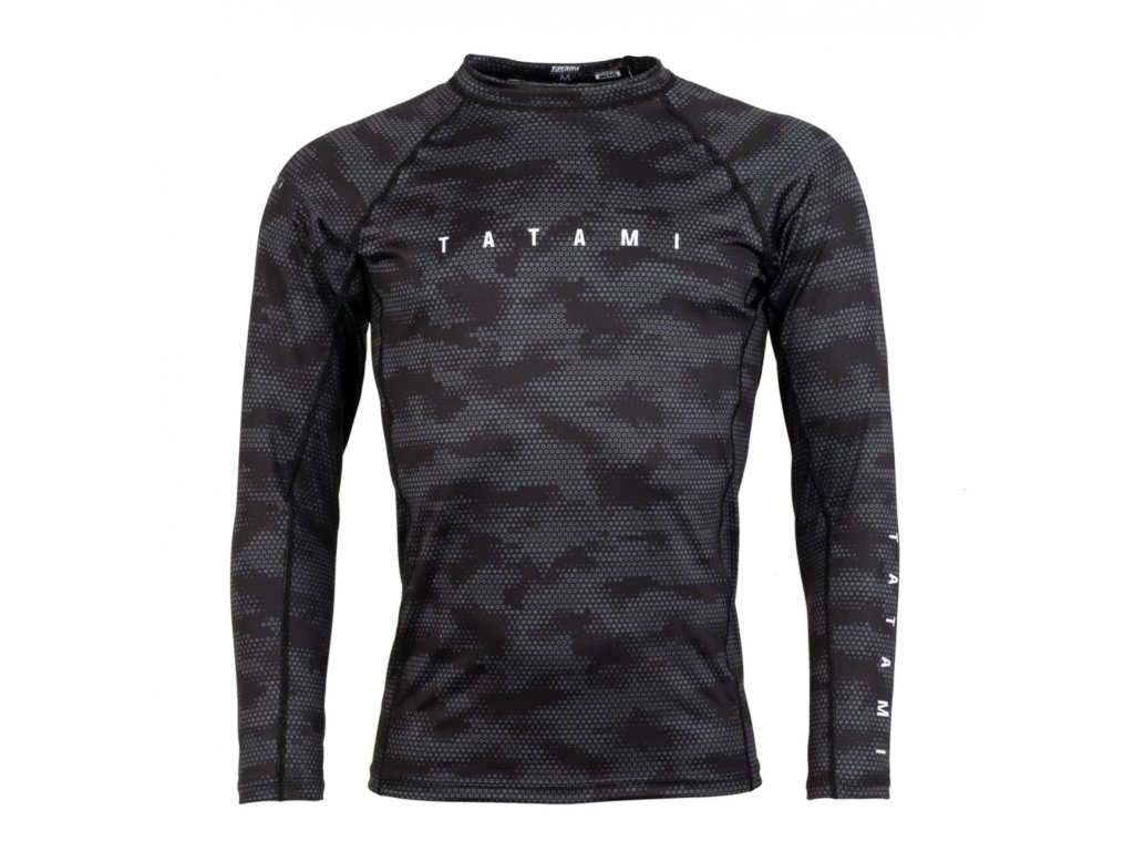 Rashguard Tatami Standard Edition - Long Sleeves - Black Digital Camo