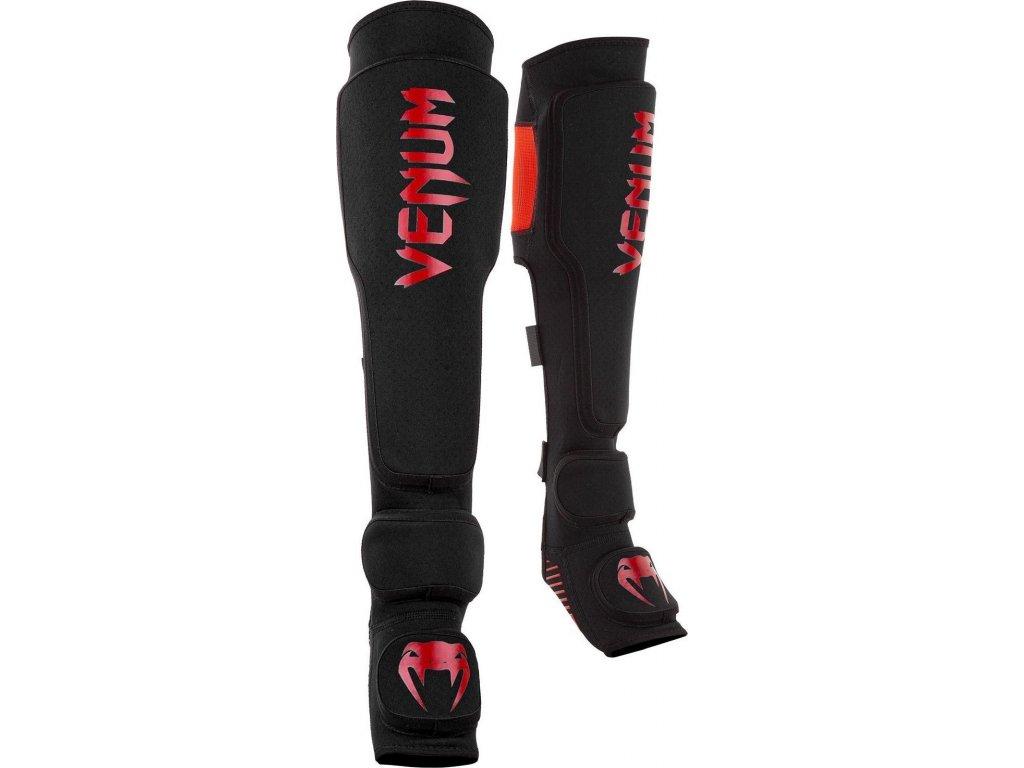 Shin Guards Venum Kontact EVO - Black/Red