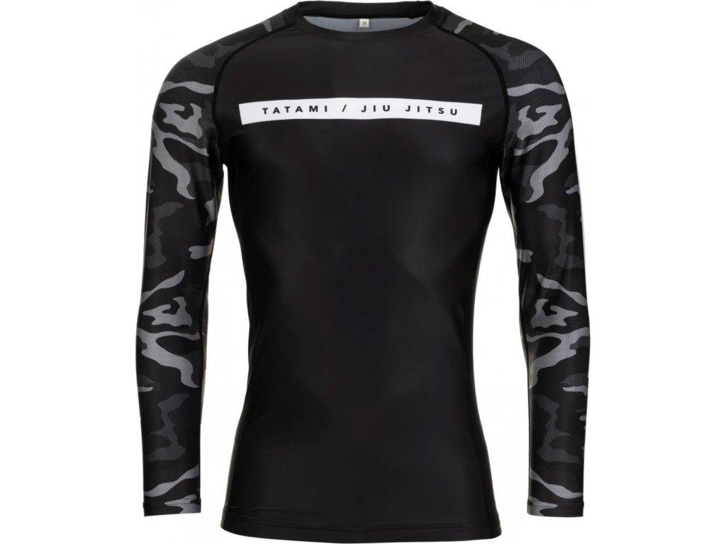 Rashguard Tatami Rival - Long Sleeves - Black & Camo