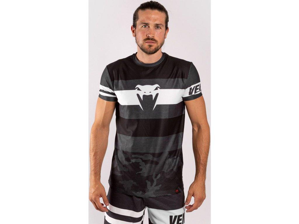 Men's T-shirt Venum Bandit Dry Tech - Black/Grey