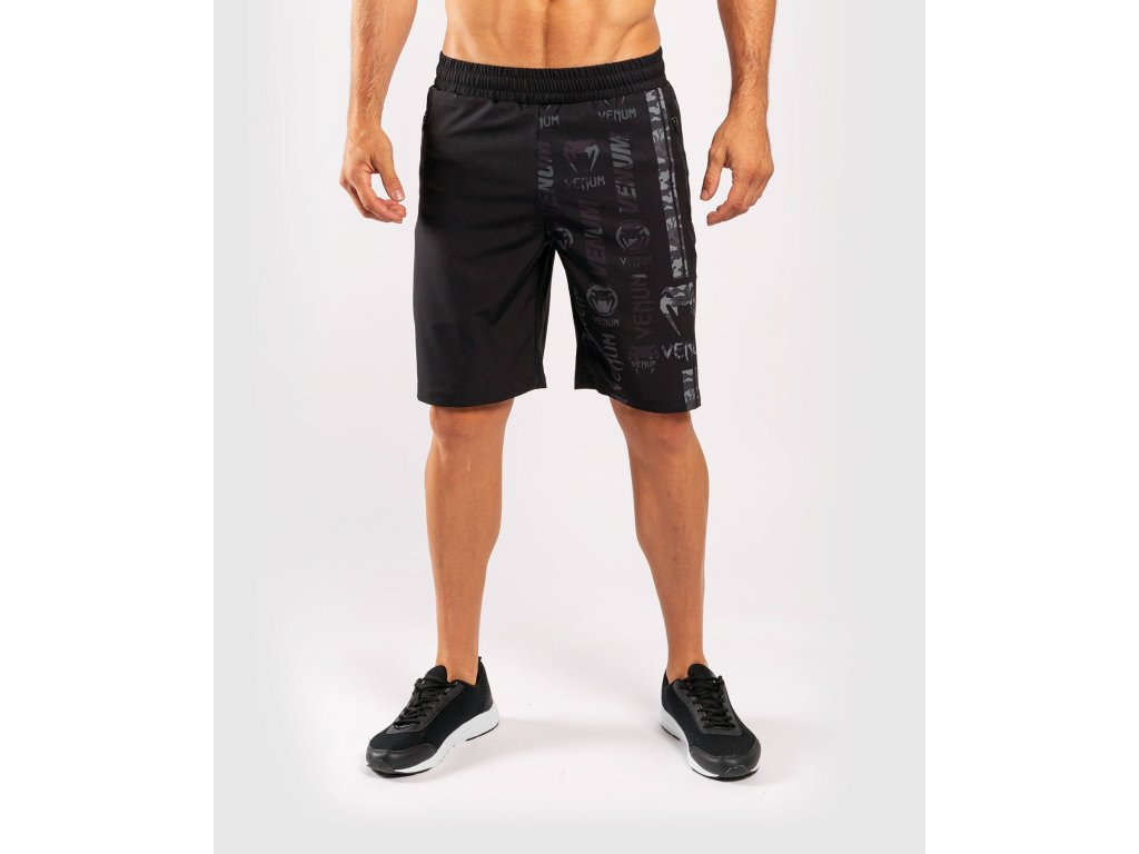 Training Shorts Venum Logos Fitness - Black/Urban Camo