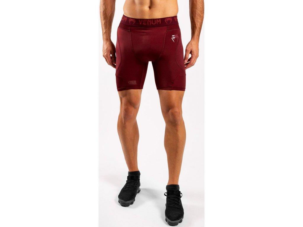 Men's Compression Shorts Venum G-FIT - Bordeaux