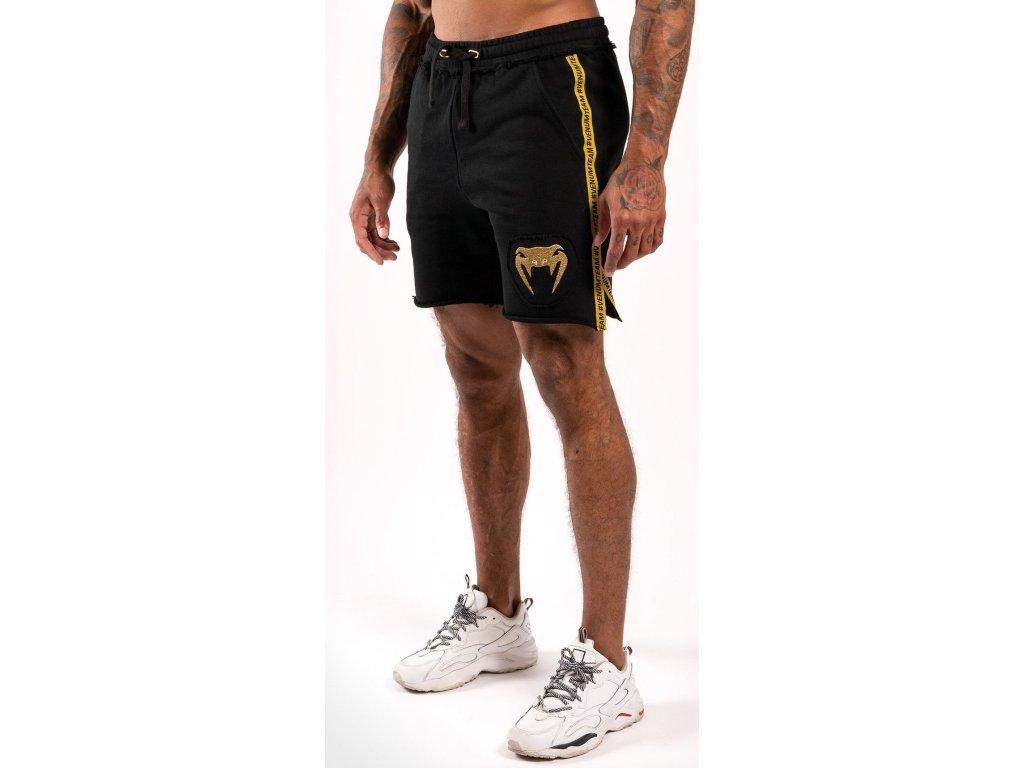 Men's Cotton Shorts Venum Cutback 2.0 - Black/Gold