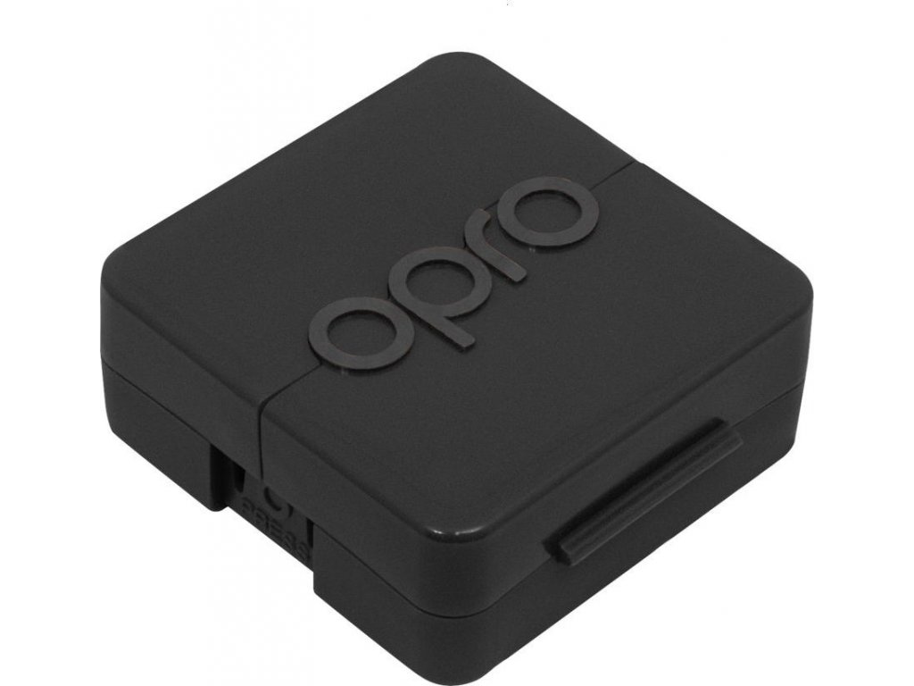 Antimicrobial Mouthguard Case OPRO - Black