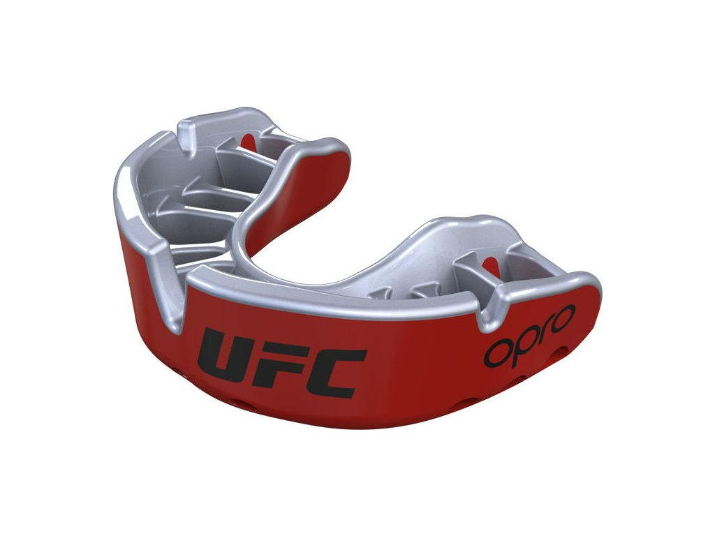 Mouthguard OPRO Gold UFC - Red/Silver