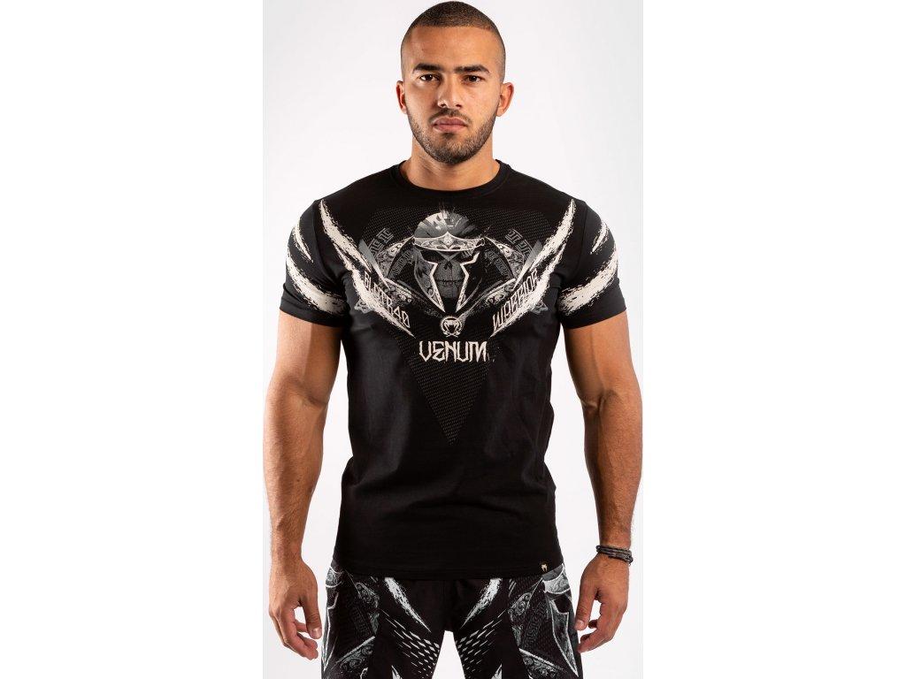Men's T-shirt Venum Gladiator 4.0 - Black/White
