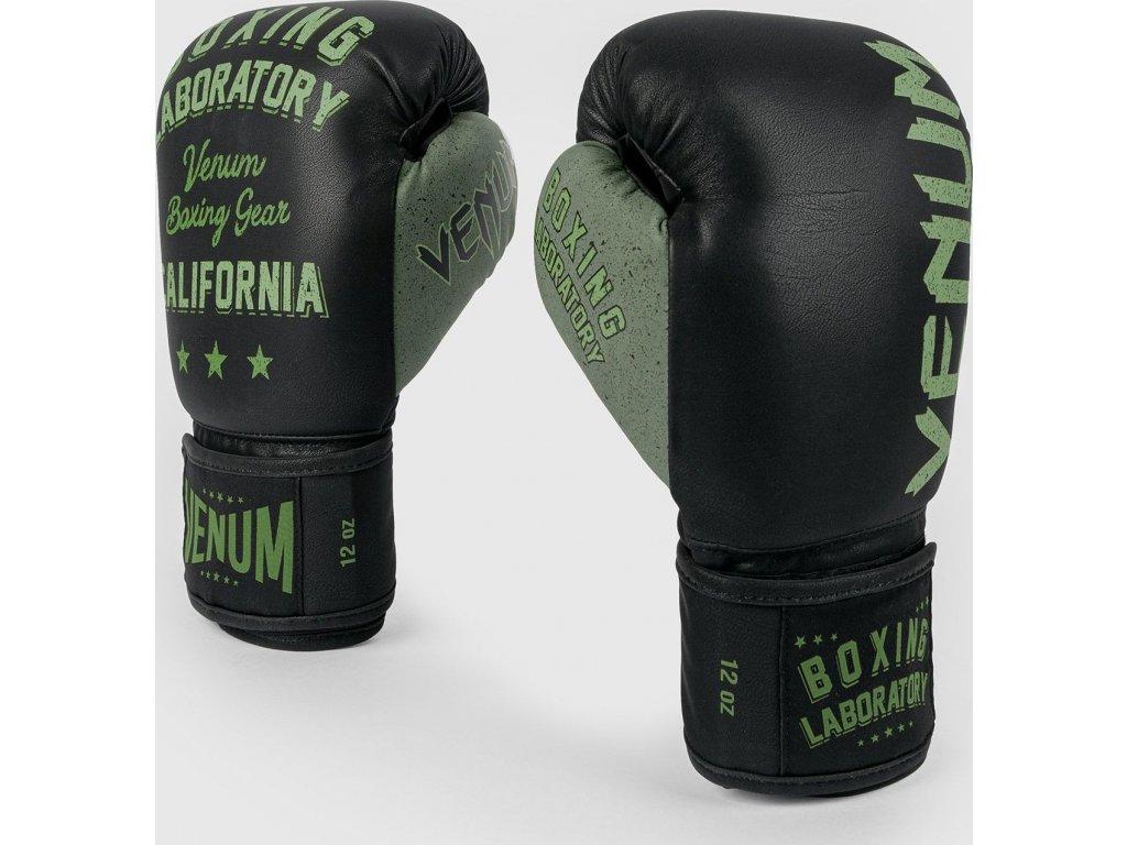 Boxing Gloves Venum Boxing Lab - Black/Green