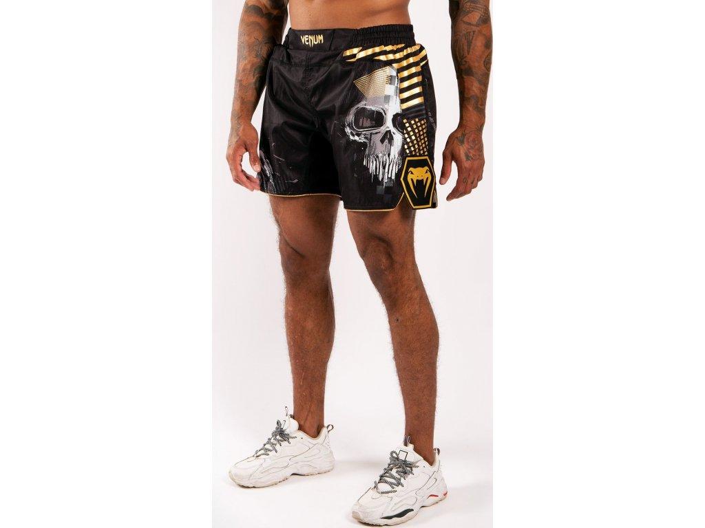 MMA Shorts Venum Skull - Black