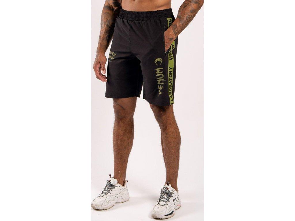 Training Shorts Venum Boxing Lab - Black/Green