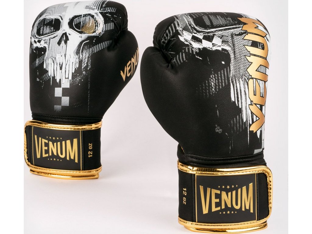 Boxing Gloves Venum Skull - Black