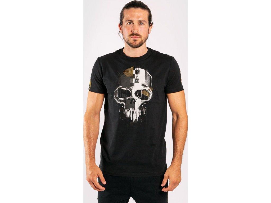 Men's T-shirt Venum Skull - Black