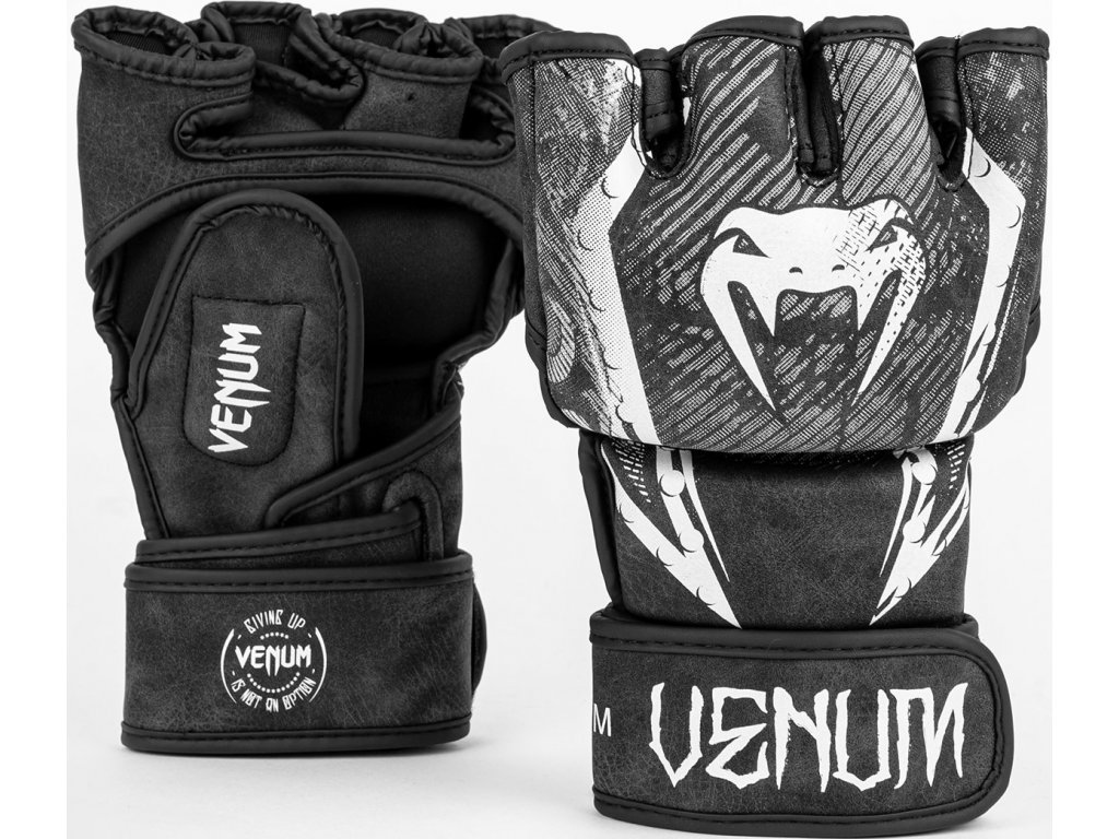 MMA Gloves Venum Gladiator 4.0 - Black/White