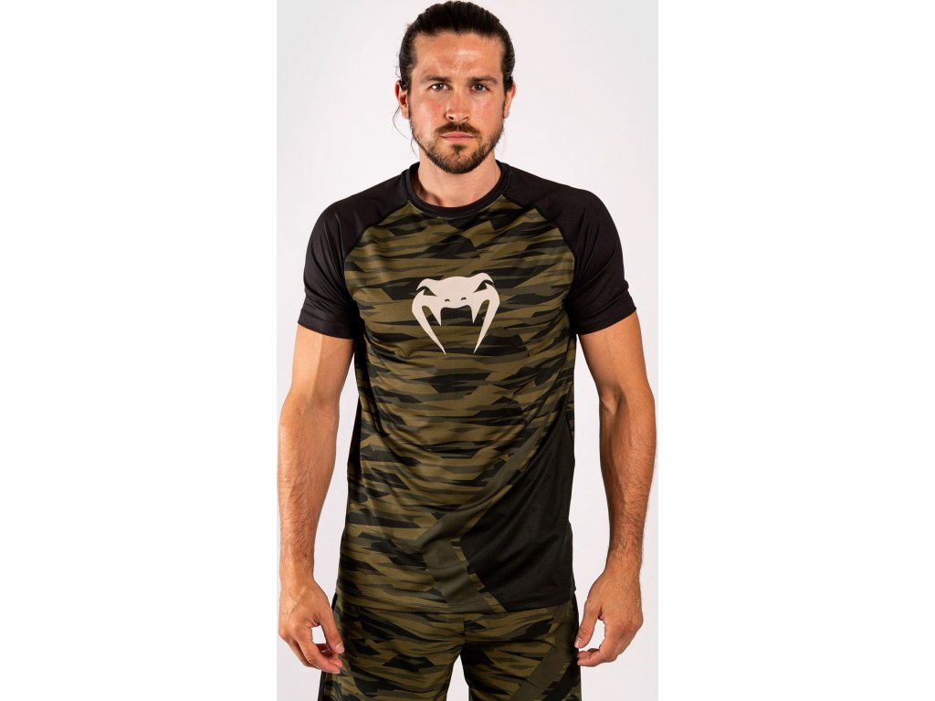 Men's T-shirt Venum Contender 5.0 Dry Tech - Khaki Camo