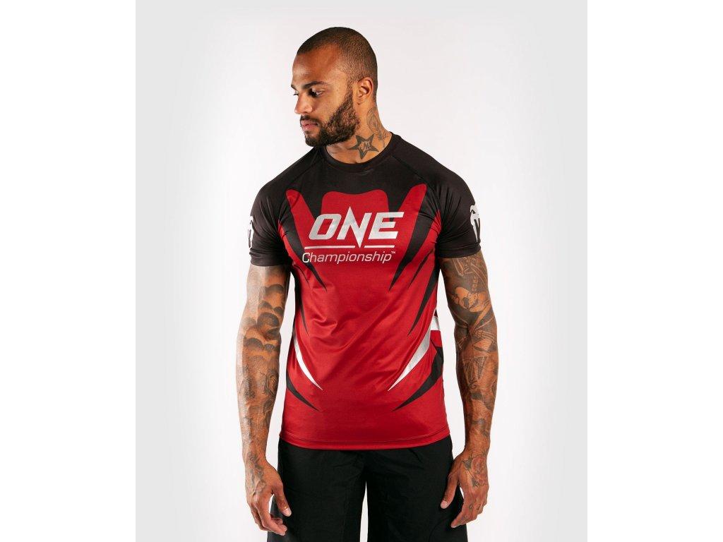 Men's T-shirt Venum X One FC Dry Tech - Red
