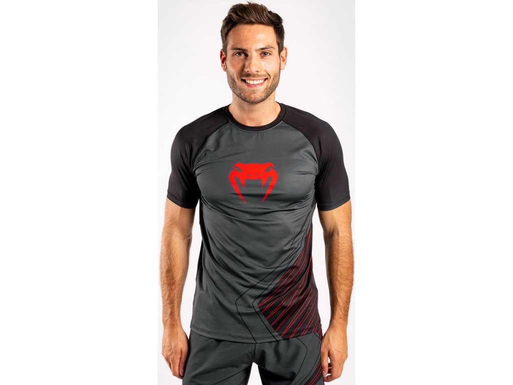 Men's T-shirt Venum Contender 5.0 Dry Tech - Black/Red