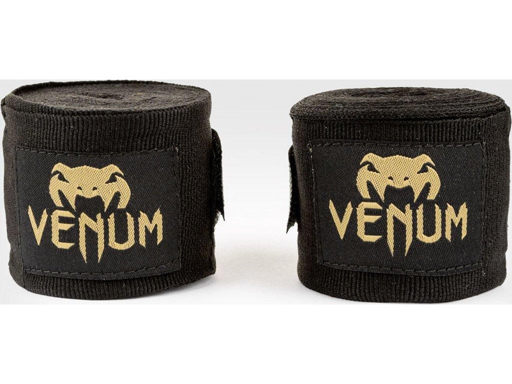 Boxing Handwraps Venum Kontact 4m - Black/Gold