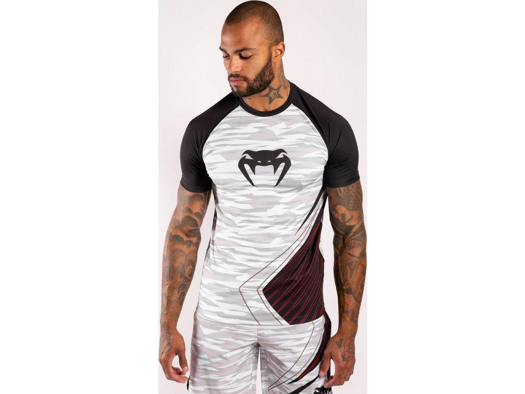 Men's T-shirt Venum Contender 5.0 Dry Tech - White/Camo