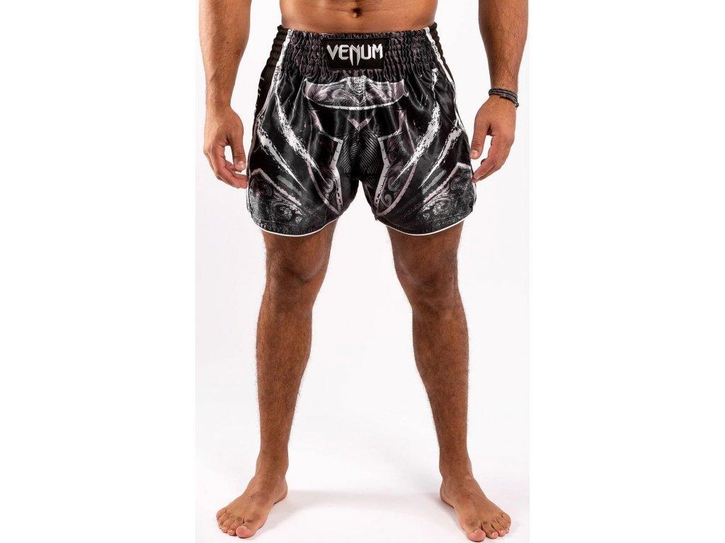 Muay Thai Shorts Venum Gladiator 4.0 Muay Thai - Black/White