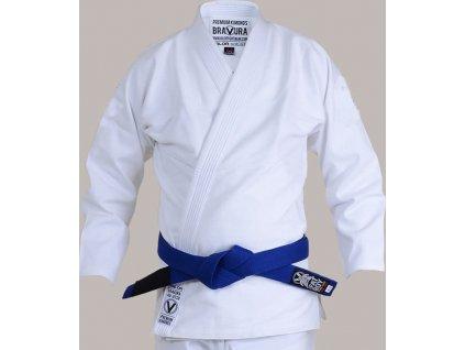 BJJ gi kimono Valor Bravura CLASSIC PLAIN WHITE + white belt