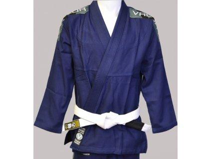 BJJ gi kimono Valor Bravura NAVY + white belt