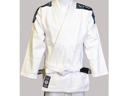 BJJ gi kimono Valor Bravura WHITE + white belt