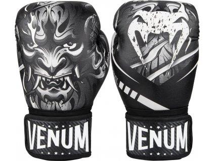 Boxing Gloves Venum Devil - WHITE/BLACK