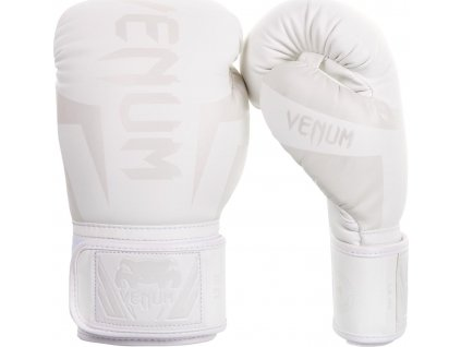 Boxing Gloves Venum Elite - White/White
