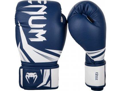 Boxing Gloves Venum Challenger 3.0 - Navy Blue/White