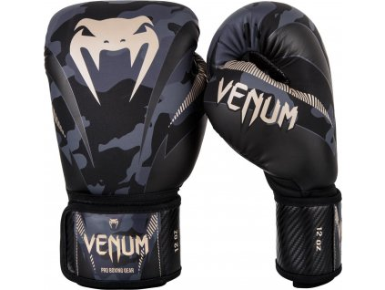 Boxing Gloves Venum Impact Dark Camo/Sand