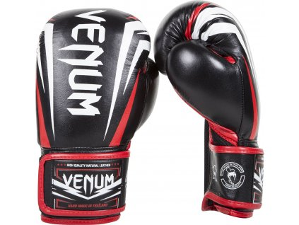 Boxing Gloves Venum Sharp - Black/Ice/Red