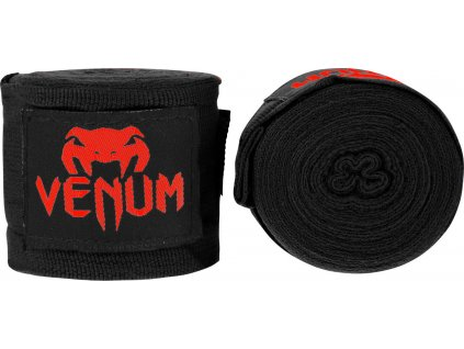 Boxing Handwraps Venum Kontact 4m BLACK/Red