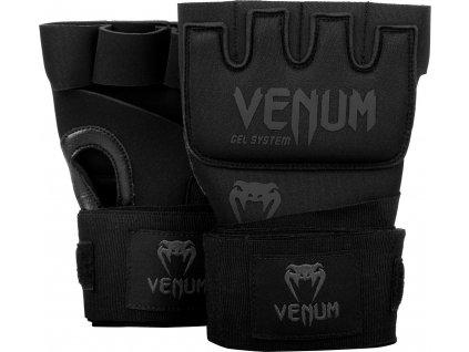 Gel Glove Wraps Venum Kontact - BLACK/BLACK